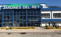 Work on the exterior of Jardines del Rey Airport in Cayo Coco, Cuba, is progressing well after Hurricane Irma.