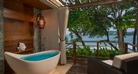 Outdoor Tub and Beach Relaxtion