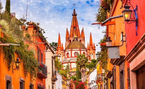 FOTO: San Miguel de Allende, México. (Foto Getty Images Plus)