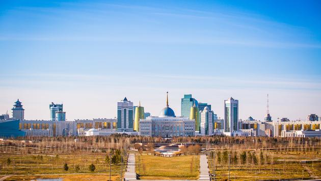 The city of Astana, capital of Kazakhstan (Photo via danielbob / iStock / Getty Images Plus)