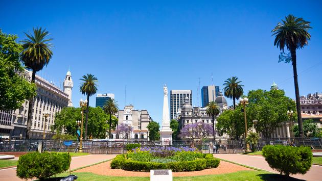 Beuatiful view Buenos Aires capital of Argentina (Photo via mfron / iStock / Getty Images Plus)