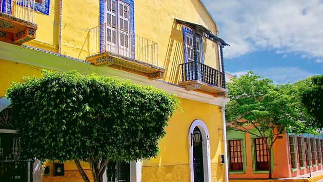 Mazatlan streets - old city (photo via Elijah-Lovkoff / iStock / Getty Images Plus)