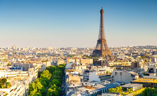 panoramic view of paris, france (photo via Sean3810 / iStock / Getty Images Plus)