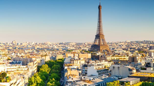 panoramic view of paris, france (photo via Sean3810 / iStock / Getty Images Plus)