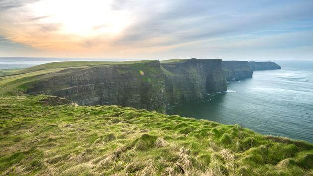 Cliffs of Moher and Atlantic Ocean (photo via Riccardo_Mojana / iStock / Getty Images Plus)