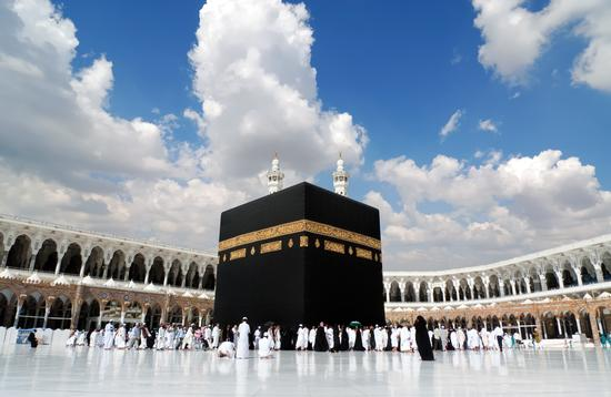 Kaaba in Mecca Saudi Arabia (Aviator70 / iStock / Getty Images Plus)
