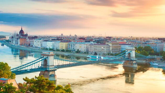 Budapest cityscape.  (photo via Peter_Horvath/iStock/Getty Images Plus)