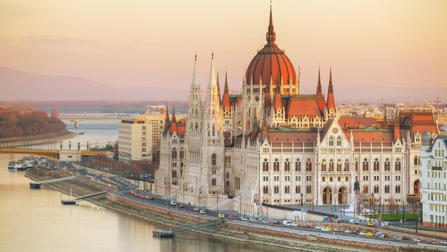 Parliament building in Budapest, Hungary.  (photo via AndreyKrav/iStock/Getty Images Plus)