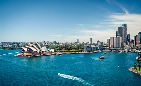 View of Sydney Harbour, Australia (photo via africanpix / iStock / Getty Images Plus)