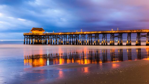 Cocoa Beach, Florida, USA at the pier. (SeanPavonePhoto / iStock / Getty Images Plus)