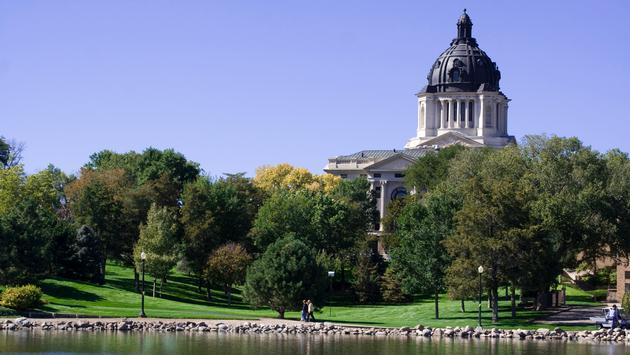 South Dakota State Capitol (Photo via entzy / iStock / Getty Images Plus)
