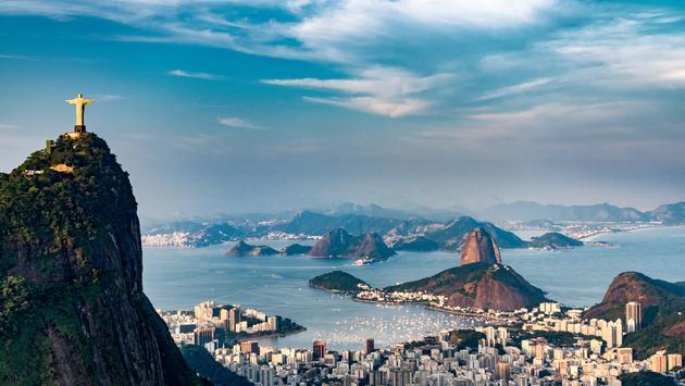 Rio De Janeiro Aerial (Photo via microgen / iStock / Getty Images Plus)