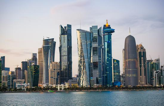 City Skyline and buildings - Doha , Qatar (Photo via Ahmed_Abdel_Hamid / iStock / Getty Images Plus)