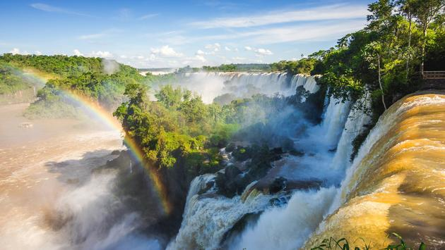 Iguazu Falls, on the Border of Argentina and Brazil (Photo Via rmnunes / iStock / Getty Images Plus)