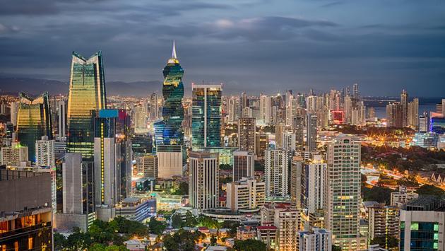 Financial center of Panama City, Panama (Rodrigo Cuel / iStock / Getty Images Plus)