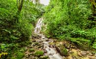 Chorro el Macho, a waterfall in El Valle de Anton, Panama (Jan-Schneckenhaus / iStock / Getty Images Plus)