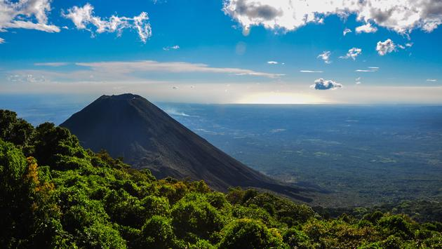 Izalco Volcano from Cerro Verde National Park, El Salvador. (photo via hbrizard / iStock / Getty Images Plus)
