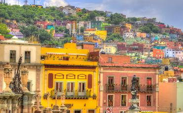 UNESCO World Heritage city of Guanajuato, Mexico.  (photo via JuliScalzi/iStock/Getty Images Plus)