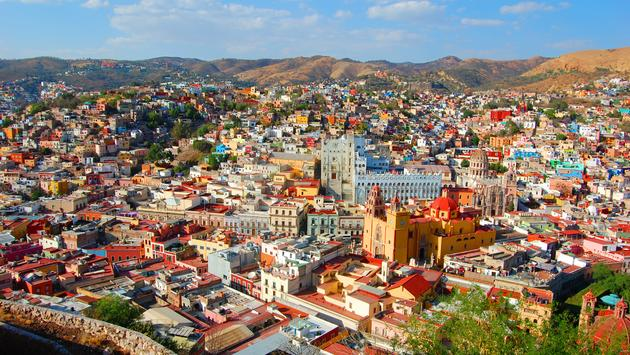 Guanajuato, Mexico.  (photo via 0829kt/iStock/Getty Images Plus)