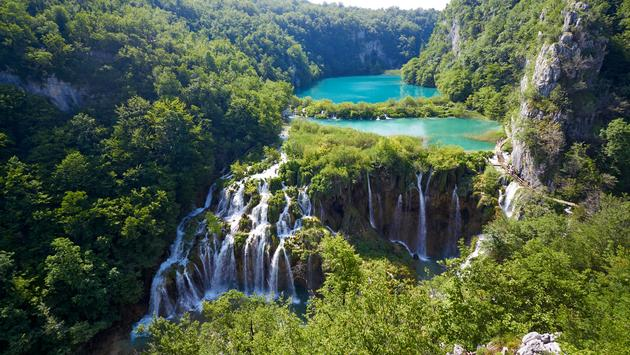 Breathtaking view in the Plitvice Lakes National Park .Croatia (Photo via micheyk / iStock / Getty Images Plus)