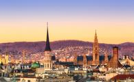 Vienna sunrise (Photo via Alexpoison / iStock / Getty Images Plus)