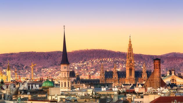 Vienna sunrise (Photo via Alexpoison / iStock / Getty Images Plus)