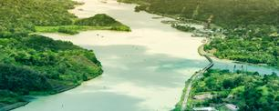 Aerial view of Panama Canal on the Atlantic side (dani3315 / iStock / Getty Images Plus)