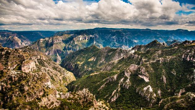 Breathtaking view of the Copper Canyon or Barrancas del Cobre in Chihuahua, Mexico. (Photo via segarza / iStock / Getty Images Plus)