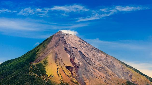 OMETEPE, NICARAGUA, closeup of the cinder cone or mountain of Conception Volcano' (pniesen / iStock / Getty Images Plus)
