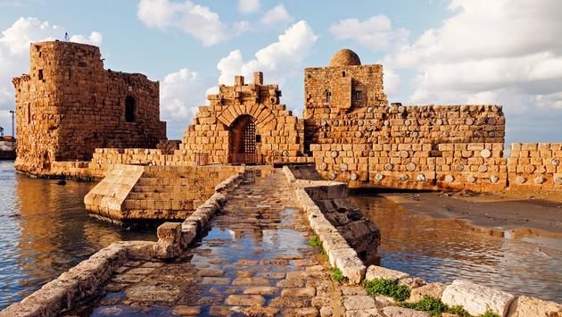 Sidon Sea Castle - Sidon, Lebanon (Photo via benkrut / iStock / Getty Images Plus)