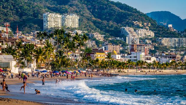 Scenic view of Puerto Vallarta.