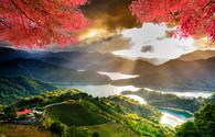 Image of beatiful landscape, Taiwan (photo via nicholashan / iStock / Getty Images Plus)