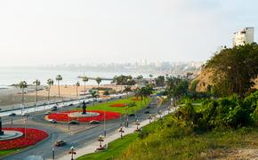 Waterfront of Barranco, Lima, Peru (Photo via elisalocci / iStock / Getty Images Plus)