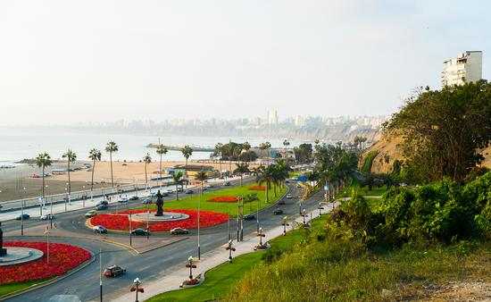 Waterfront of Barranco, Lima, Peru (Photo via elisalocci / iStock / Getty Images Plus)