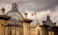 Government House Morelia Mexico from Main Cathedral (bpperry / iStock / Getty Images Plus)