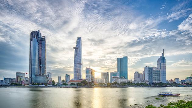 This image is took around 5:30pm in the summer in Ho Chi Minh City. (photo via TonyNg / iStock / Getty Images Plus)
