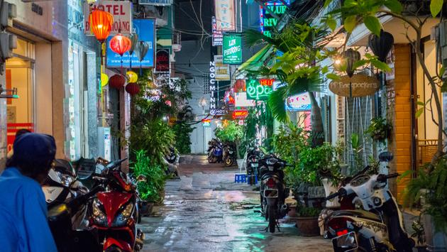 Vietnam Ho Chi Minh City Bui Vien Street. (photo via kazhiya / iStock / Getty Images Plus)