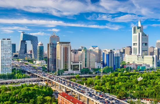Beijing, China cityscape at the CBD. (Photo via SeanPavonePhoto / iStock / Getty Images Plus)