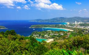 Thailand, Phuket. View point of Kata Noi, Karon Beach and Karon Beach. (Photo via sorincolac / iStock / Getty Images Plus)