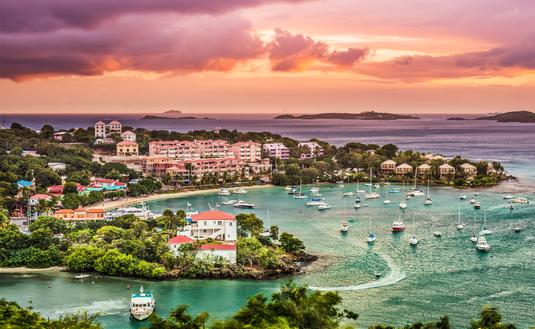 Cruz Bay, St John, United States Virgin Islands. (photo via SeanPavonePhoto / iStock / Getty Images Plus)