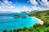 Trunk Bay, St John, United States Virgin Islands. (photo via SeanPavonePhoto / iStock / Getty Images Plus)