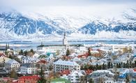 Reykjavik capital city of iceland.  (photo via patpongs/iStock/Getty Images Plus)