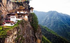Tiger's Nest at Paro Bhutan (Photo via StephenChing / iStock / Getty Images Plus)