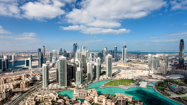 Downtown Dubai (photo via nicky39 / iStock / Getty Images Plus)