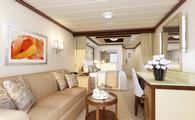 Sky Princess Club Class Mini Suite