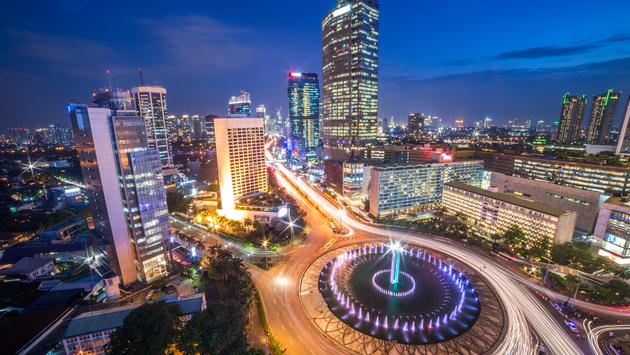Selamat Datang Monument (Selamat Datang is Indonesian for 'Welcome'), also known as the Monumen Bundaran HI or Monumen Bunderan HI, is a monument located in Central Jakarta, Indonesia. Completed in 1962, Selamat Datang Monument is one of the historic land
