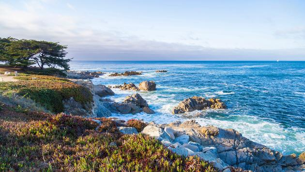 Seascape of Monterey Bay at Sunset in Pacific Grove, California, USA (Photo via Serbek / iStock / Getty Images Plus)