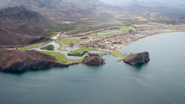 An aerial view of Loreto in Baja California, Mexico (Photo via MiguelABriones / iStock / Getty Images Plus)