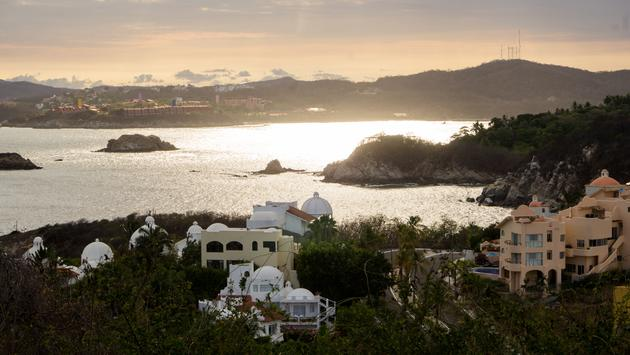Tangolunda Bay in Huatulco Mexico.  (photo via CharlieRamos/iStock/Getty Images Plus)
