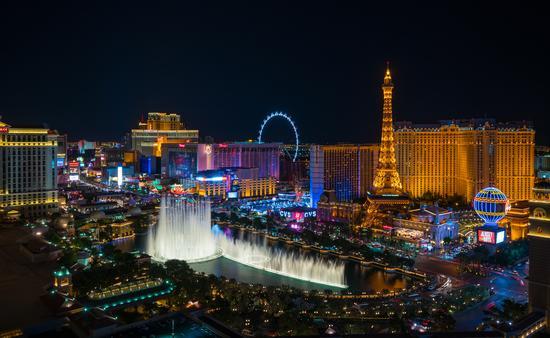 World famous Vegas Strip in Las Vegas, Nevada (Photo via  f11photo / iStock / Getty Images Plus)